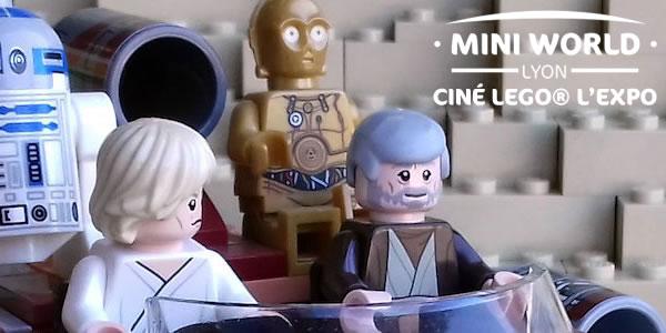 Mini World Lyon : Retrouvez les univers cultes du cinéma en version LEGO