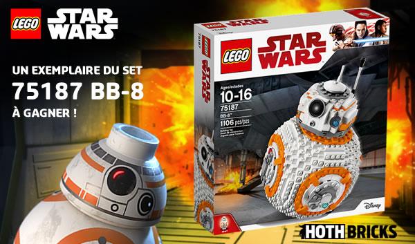 Concours : un set LEGO Star Wars 75187 BB-8 à gagner !