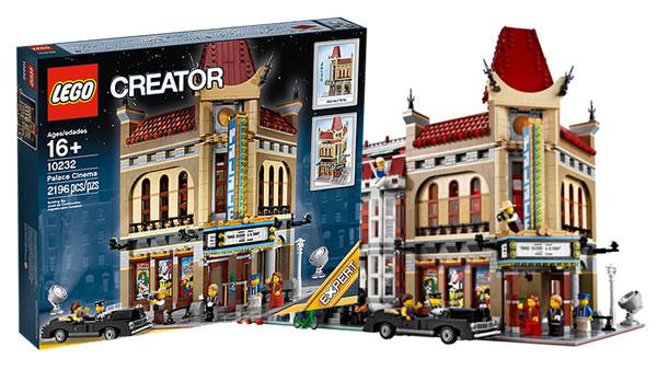 Dernières séances pour le set LEGO Creator Expert 10232 Place Cinéma