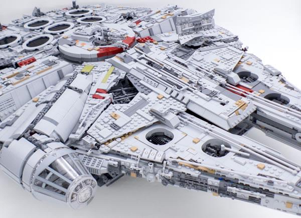 millennium falcon lego 75192
