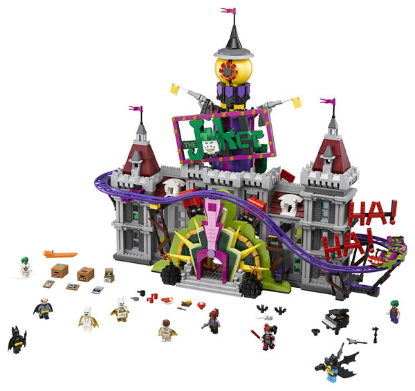 70922 The Joker Manor