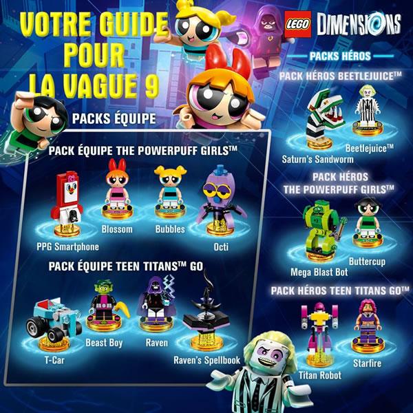 LEGO Dimensions : Les nouveaux packs d'extension sont disponibles