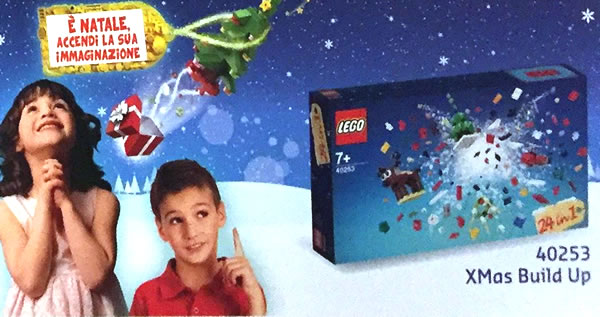LEGO 40253 Christmas Build-Up