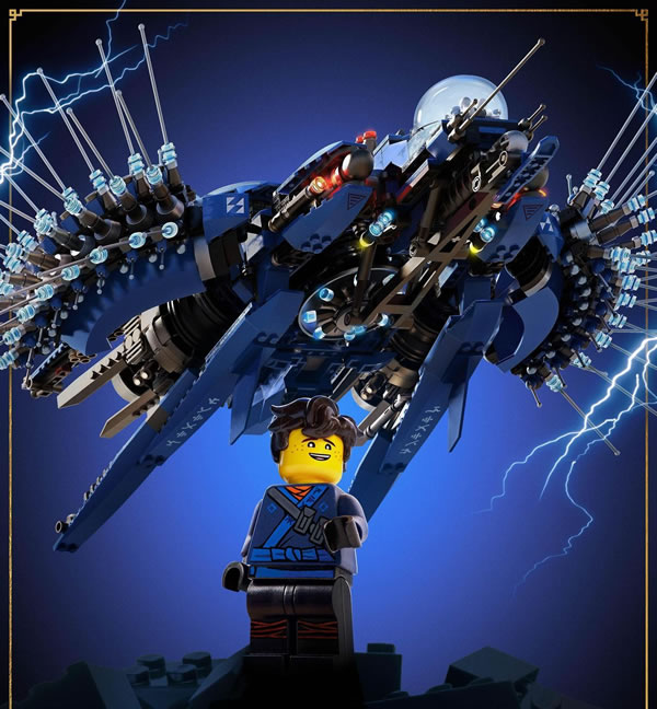 The LEGO Ninjago Movie - Jay's Lightning Jet