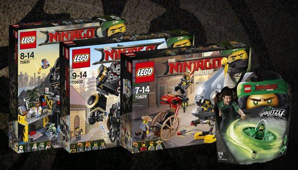 Nouveautés The LEGO Ninjago Movie de décembre 2017 : les visuels officiels
