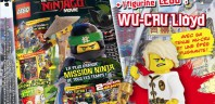 Magazine officiel The LEGO Ninjago Movie : Lloyd en version Spinjitzu Training inclus