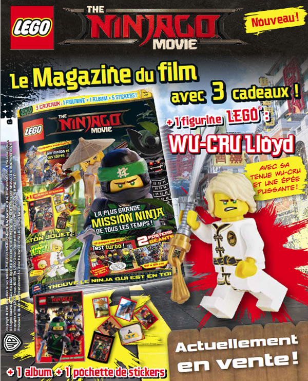 The LEGO Ninjago Movie Official Magazine
