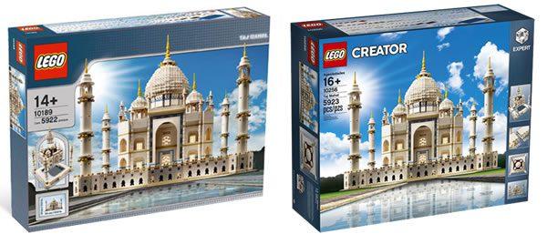 LEGO Creator Expert 10189 / 10256 Taj Mahal