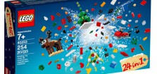 LEGO 40253 Christmas Build-Up 24-en-1 : le contenu de la boite