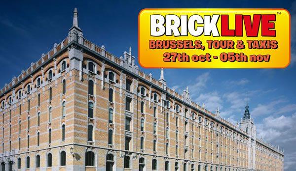 Bricklive Bruxelles 2017 : Gagnez vos entrées ou votre Pass VIP !