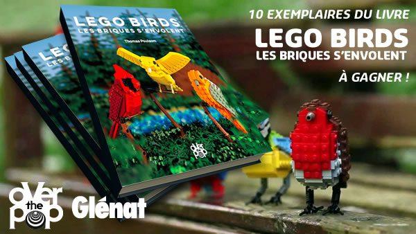 Concours : 10 exemplaires du livre LEGO Birds à gagner !