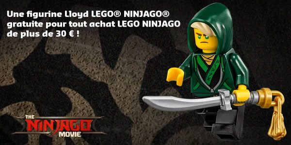 Polybag LEGO Ninjago Movie 30609 Lloyd : Enfin offert sur le LEGO Shop