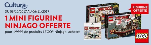 Polybag The LEGO Ninjago Movie 30428 Green Ninja Mech Dragon offert dès 19.99 € d'achat