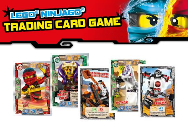 LEGO Ninjago Trading Cards