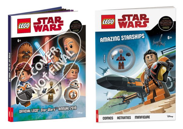 Official LEGO Star Wars Annual 2019 & LEGO Star Wars Amazing Starships