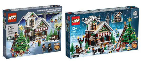 LEGO Creator Expert 10199 / 10249 Winter Toy Shop