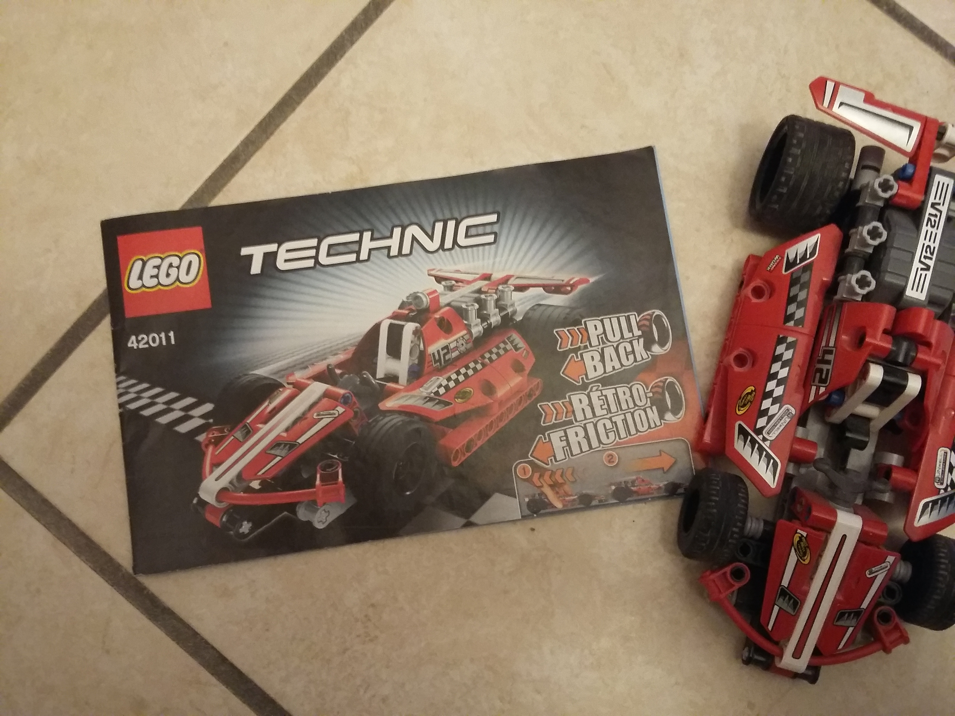 voiture de course lego technic 42011 hoth bricks. Black Bedroom Furniture Sets. Home Design Ideas