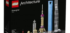 LEGO Architecture 21039 Shanghai skyline : premier visuel officiel