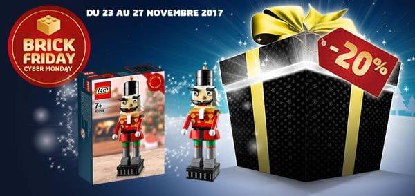 Brick Friday 2017 chez LEGO : C'est parti !