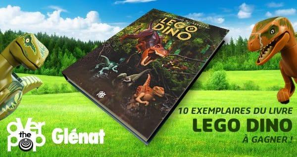 Concours : 10 exemplaires du livre LEGO DINO à gagner !