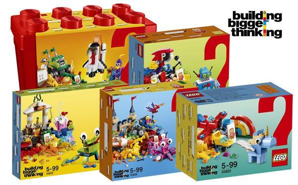 Building Bigger Thinking : cinq sets pour fêter les 60 ans de la brique LEGO