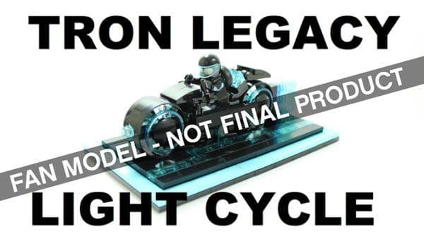 Prochain set LEGO Ideas : Tron Legacy Light Cycle