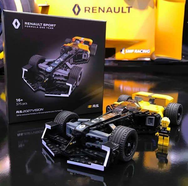 L'Atelier Renault : comment obtenir le set LCP R.S.2027 Vision ?