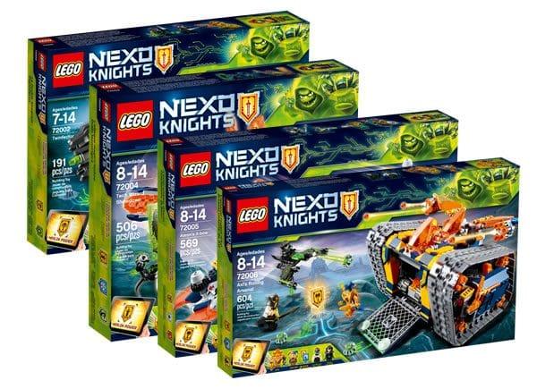 Nouveautés LEGO Nexo Knights 2018 : encore des visuels