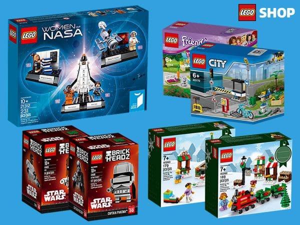 LEGO Shop : les nouveautés de novembre sont disponibles