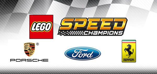 LEGO Speed Champions 2018 : Ford, Porsche et Ferrari