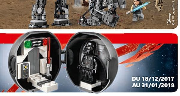 En décembre : nouveau Pod LEGO Star Wars avec Darth Vader (5005376)