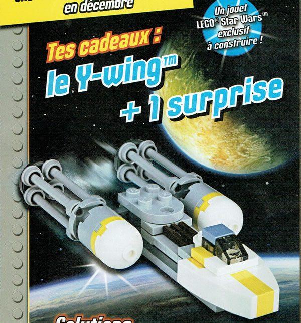 LEGO Star Wars Magazine : un Y-Wing avec le numéro de décembre 2017