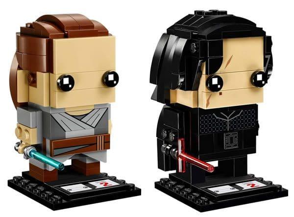 LEGO Star Wars BrickHeadz - 41489 Rey & Kylo Ren