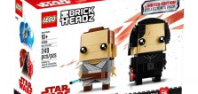 LEGO Star Wars BrickHeadz 41489 Rey & Kylo Ren : les visuels officiels