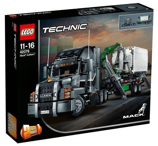 nouveaut s lego technic 2018 les visuels officiels du set 42078 mack anthem hoth bricks. Black Bedroom Furniture Sets. Home Design Ideas