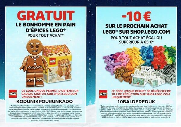 ▷ Catalogue de Noël LEGO 2017 : Un cadeau et 10 € de réduction à