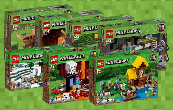 nouveaut s lego minecraft 2018 premiers visuels officiels hoth bricks. Black Bedroom Furniture Sets. Home Design Ideas