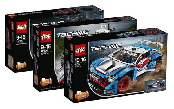 Nouveautés LEGO Technic 2018 : encore des visuels