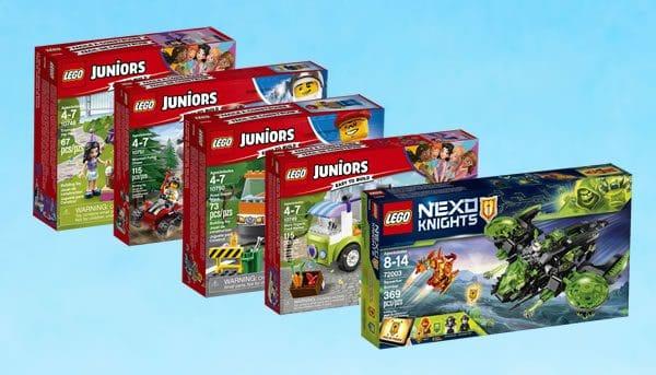 Nouveautés LEGO Juniors / Nexo Knights 2018 : encore des visuels