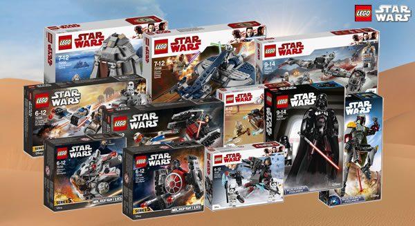 Nouveautés LEGO Star Wars 2018 : (enfin) des visuels officiels
