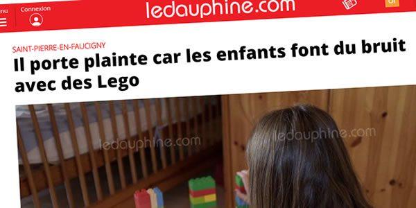 La belle histoire de Noël : un voisin excédé par le bruit des LEGO