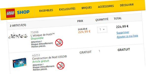 Sur le Shop LEGO : 40253 LEGO 24-in-1 Christmas Builds offert dès 65 € d´achat