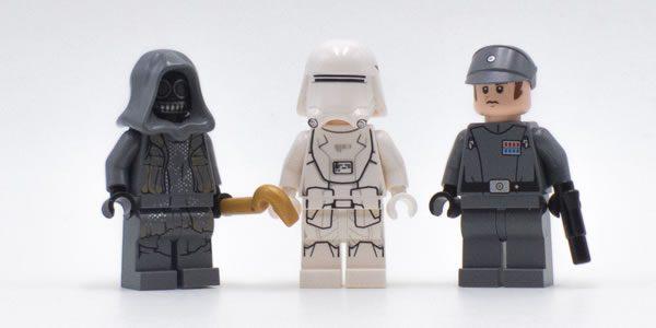 75184 LEGO Star Wars Advent Calendar 2017 : le point sur les minifigs (2)