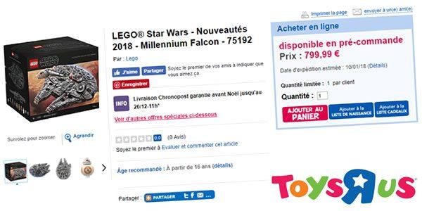lego 75192 millennium falcon toysrus