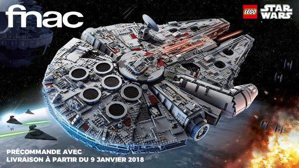 LEGO Star Wars 75192 UCS Millennium Falcon : en précommande sur FNAC.com