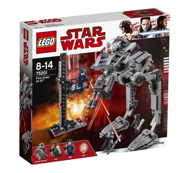 May The 4th Be With You Lego 2018: LEGO Star Wars 75201 First Order AT-ST (ou Presque) En