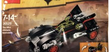 Polybag LEGO inédit : 30526 The Mini Ultimate Batmobile