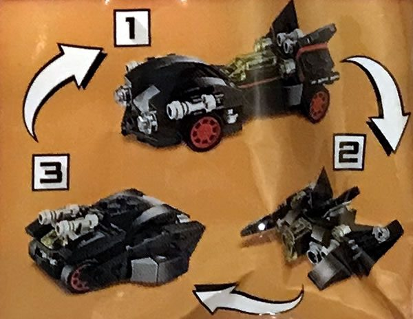 The LEGO Batman Movie - 30526 The Mini Ultimate Batmobile