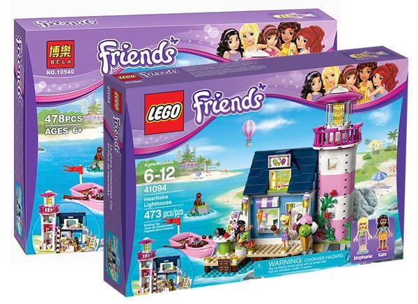 """The Clone Wars : LEGO gagne en justice contre la """"marque"""" BELA"""
