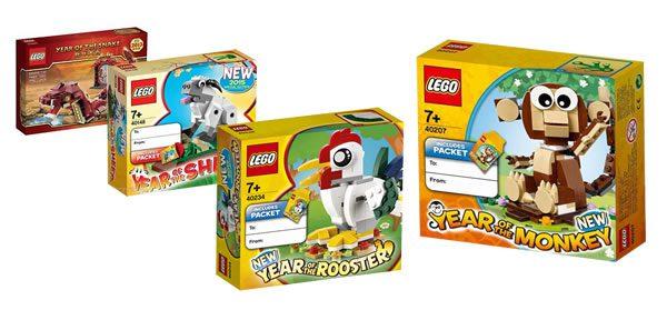 LEGO Chinese Zodiac sets